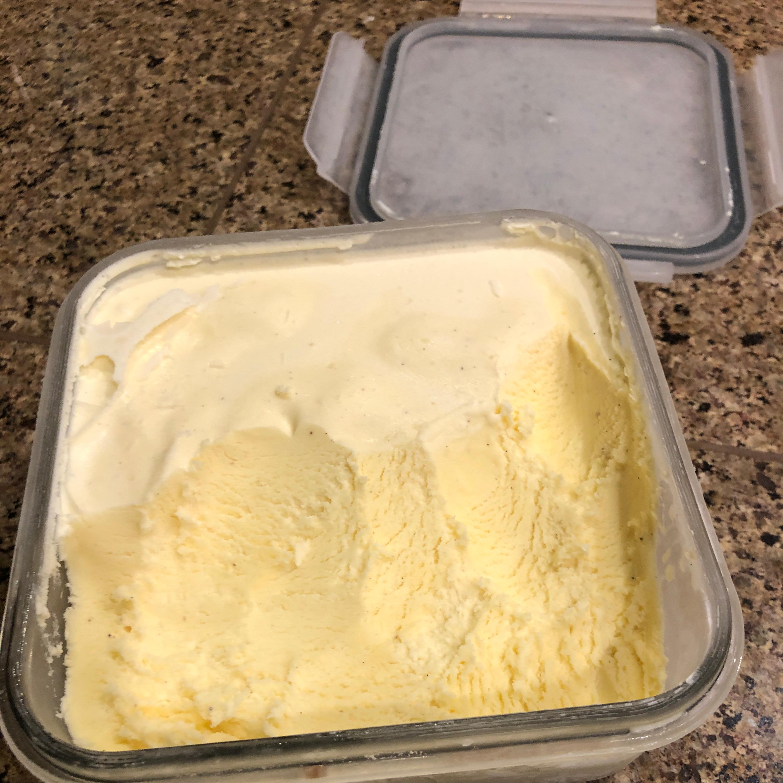 Frozen Vanilla Custard Stevie T