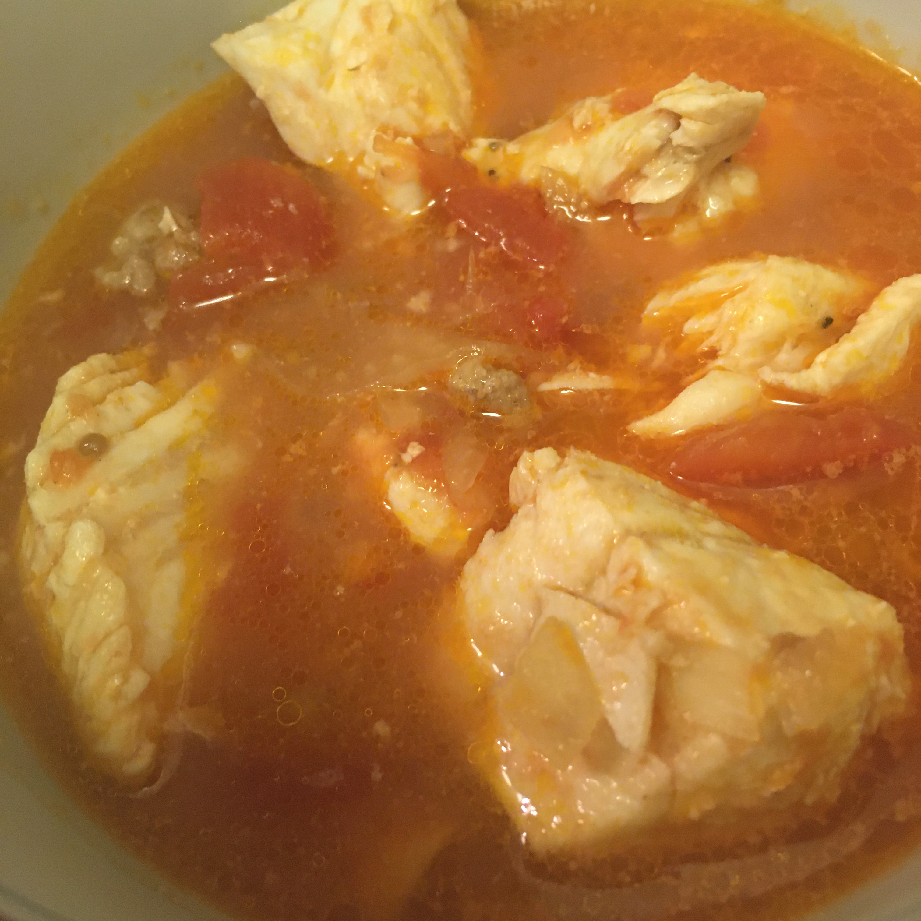 Quick and Easy Halibut Stew barbara