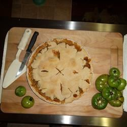Green Tomato Pie I tensandtwenties