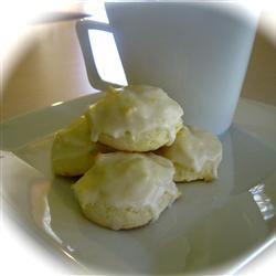 Glazed Lemon-Cream Cheese Cookies