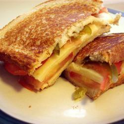 Fried Green Tomato Sandwich MBKRH