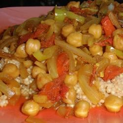 Cholay (Curried Chickpeas) sueb