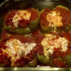 Stuffed Mexican Peppers Anonymous