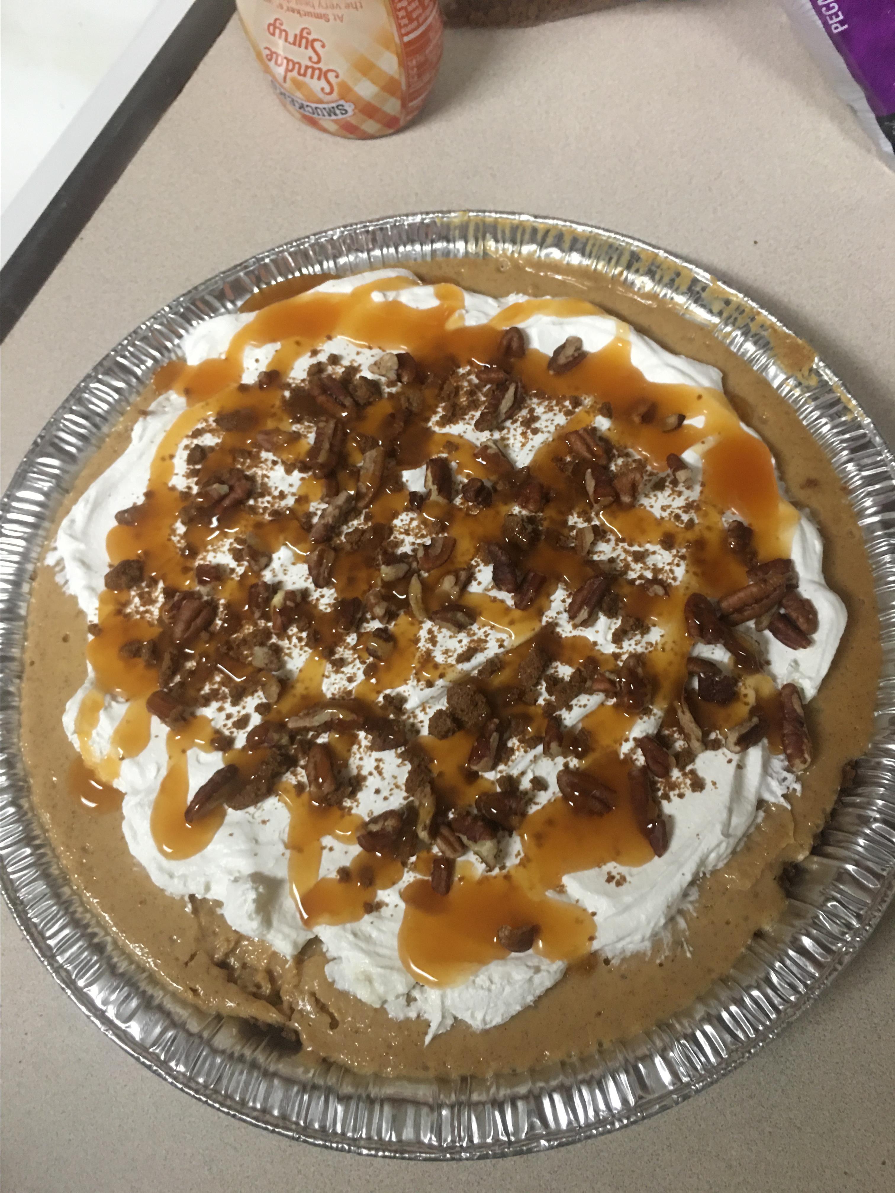 Swirled Pumpkin and Cream Cheese Cheesecake Bruce Swainhart