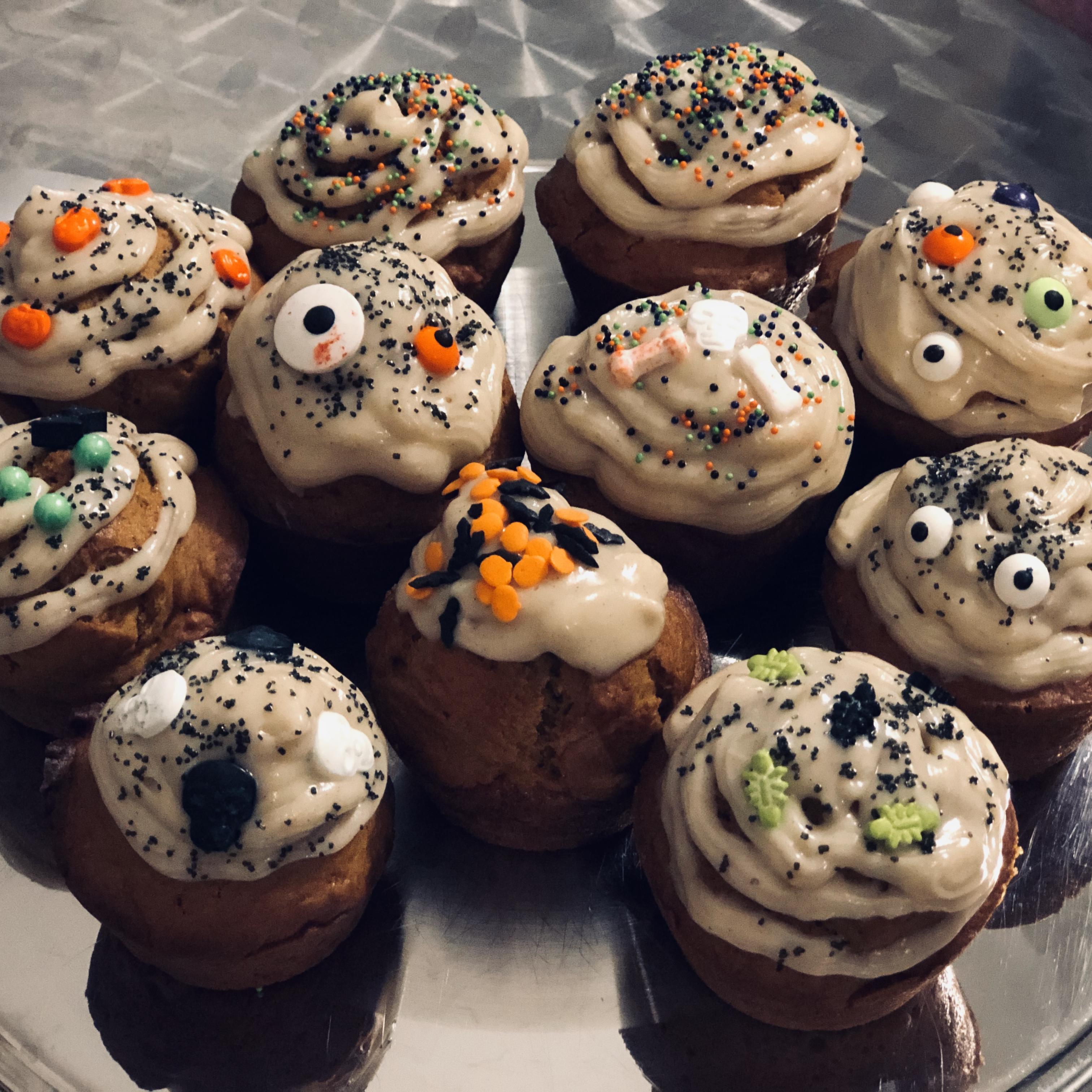 Pumpkin Spice Cupcakes Vmorgan422