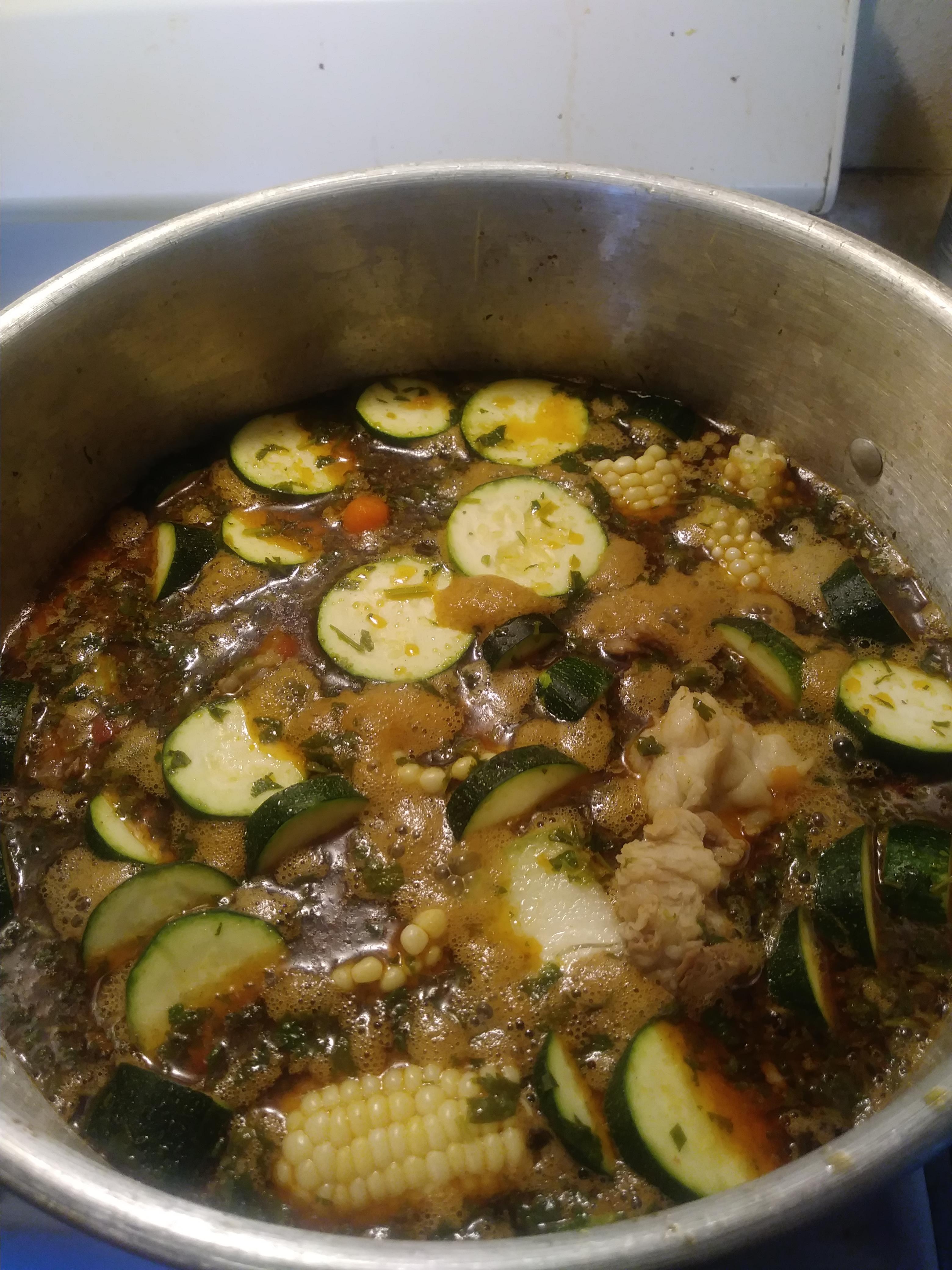 Caldo de Res (Mexican Beef Soup) Karla
