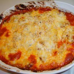 Basic Baked Spaghetti