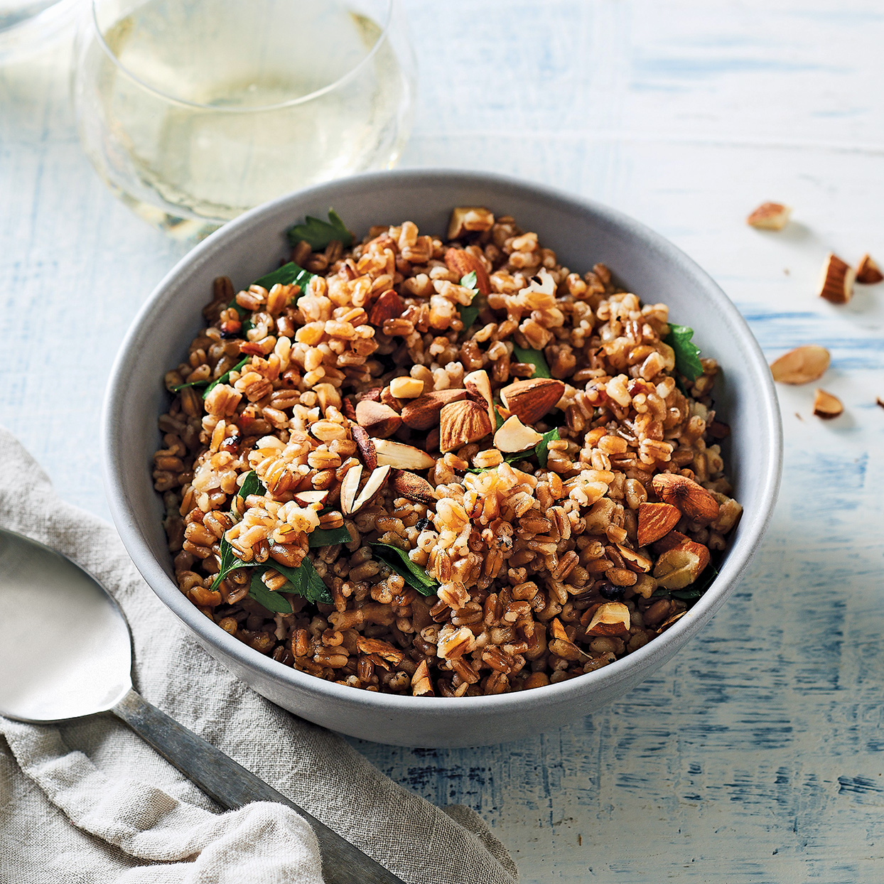 Slow-Cooker Herb-Infused Wheat Berry Pilaf Trusted Brands