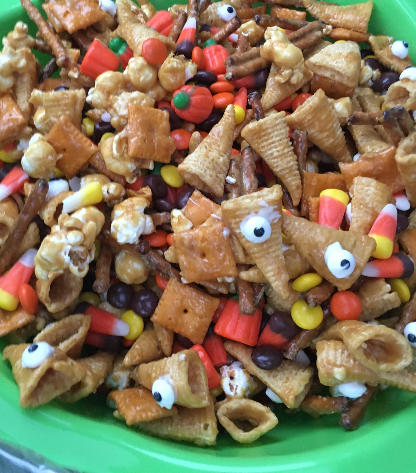 Ghoulishly Good Halloween Snack Mix H Creed
