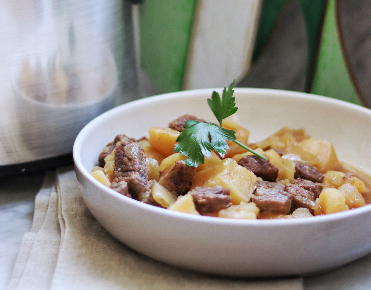 Simple Slow Cooker Irish Stew