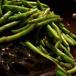 Asian-Inspired Green Bean Salad SunnyByrd
