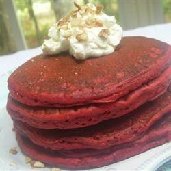 Red Velvet Pancakes Loves2Cook