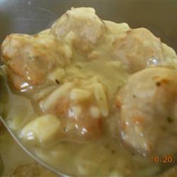 Meatball Orzo Soup nursegirl
