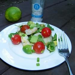Avocado-Lime Shrimp Salad (Ensalada de Camarones con Aguacate y Limon) Seattle2Sydney