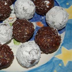 Cocoa Rum Balls SavvyTech