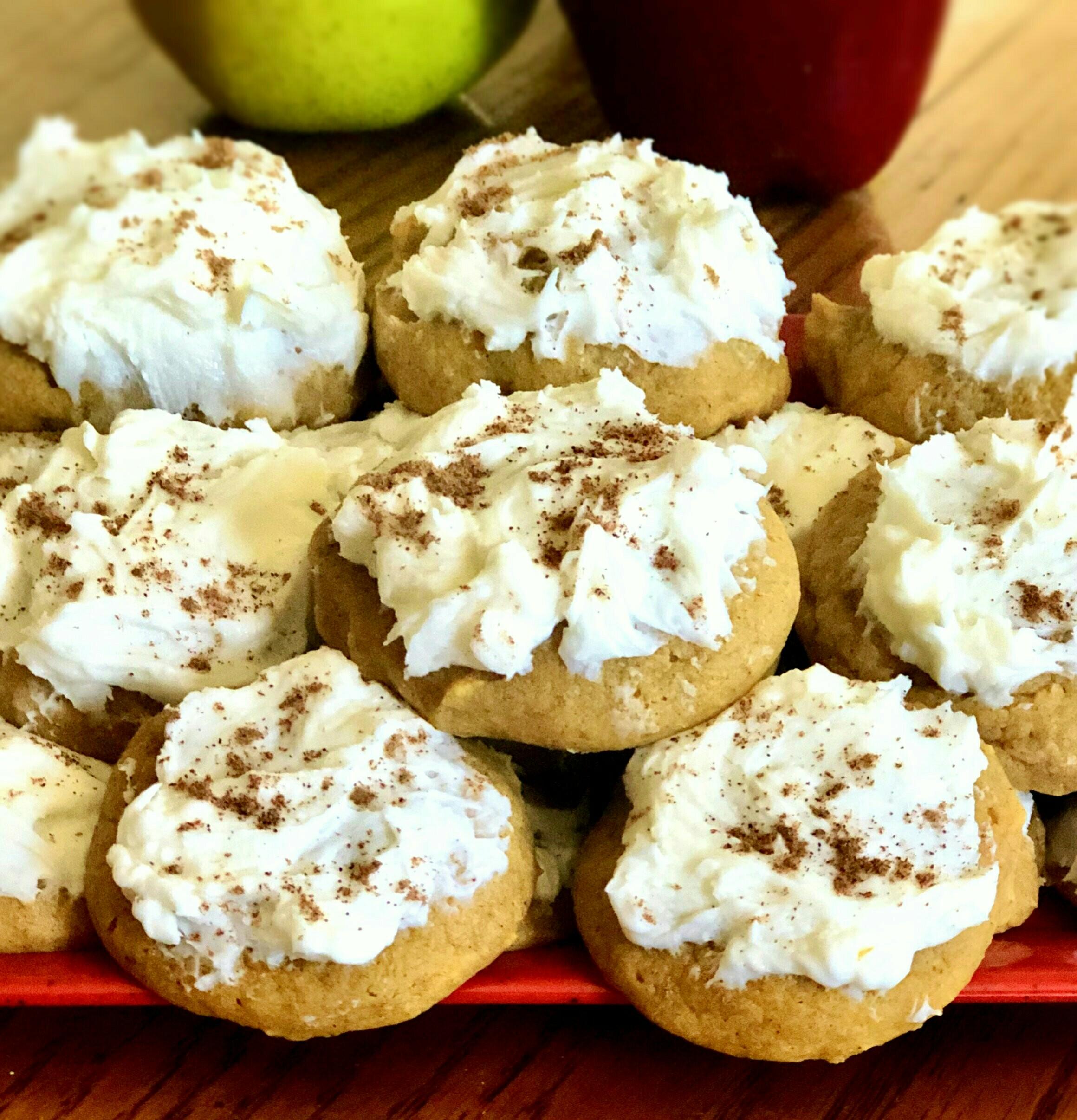 Walnut-Pumpkin Cookies