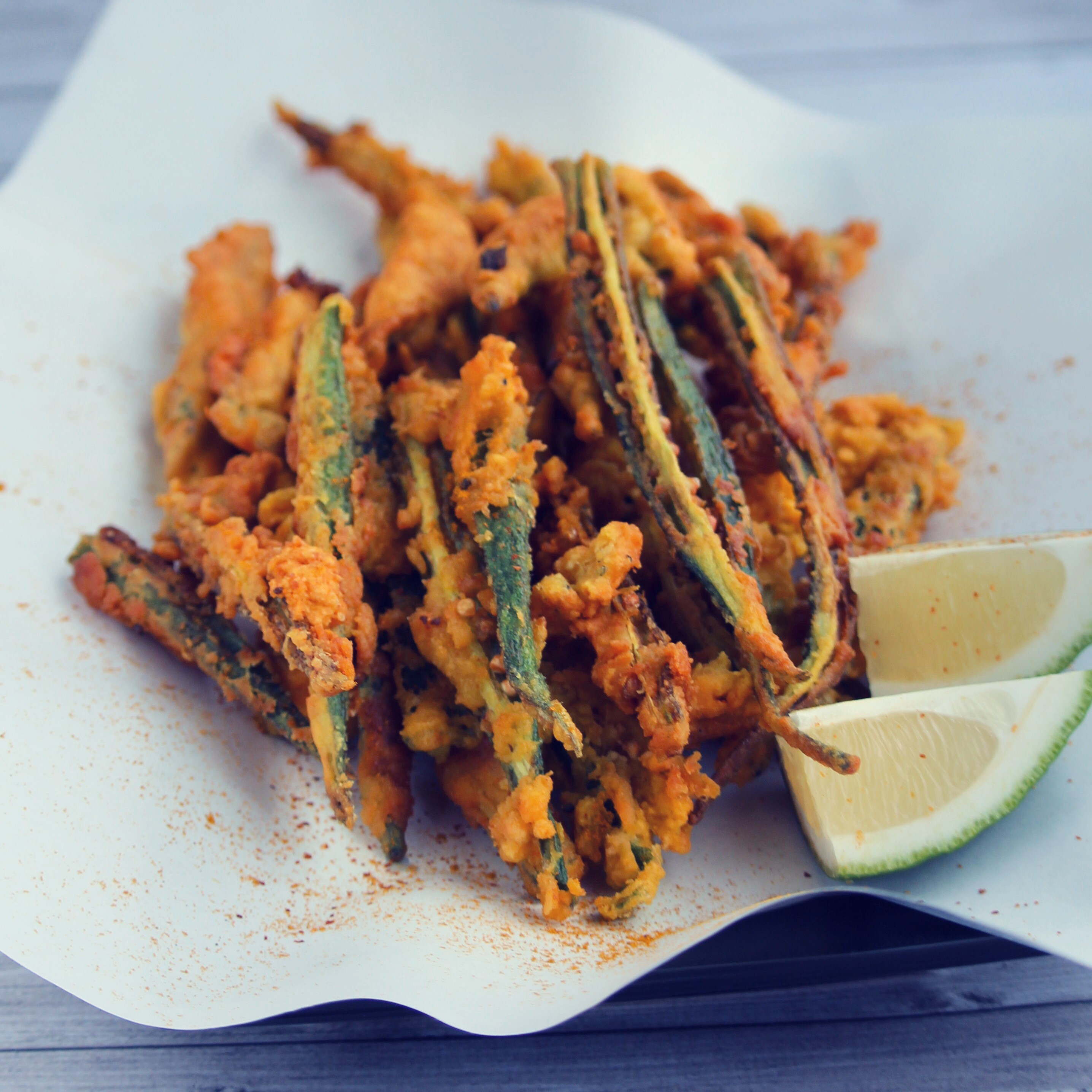 Crispy Indian Okra Recipe Allrecipes