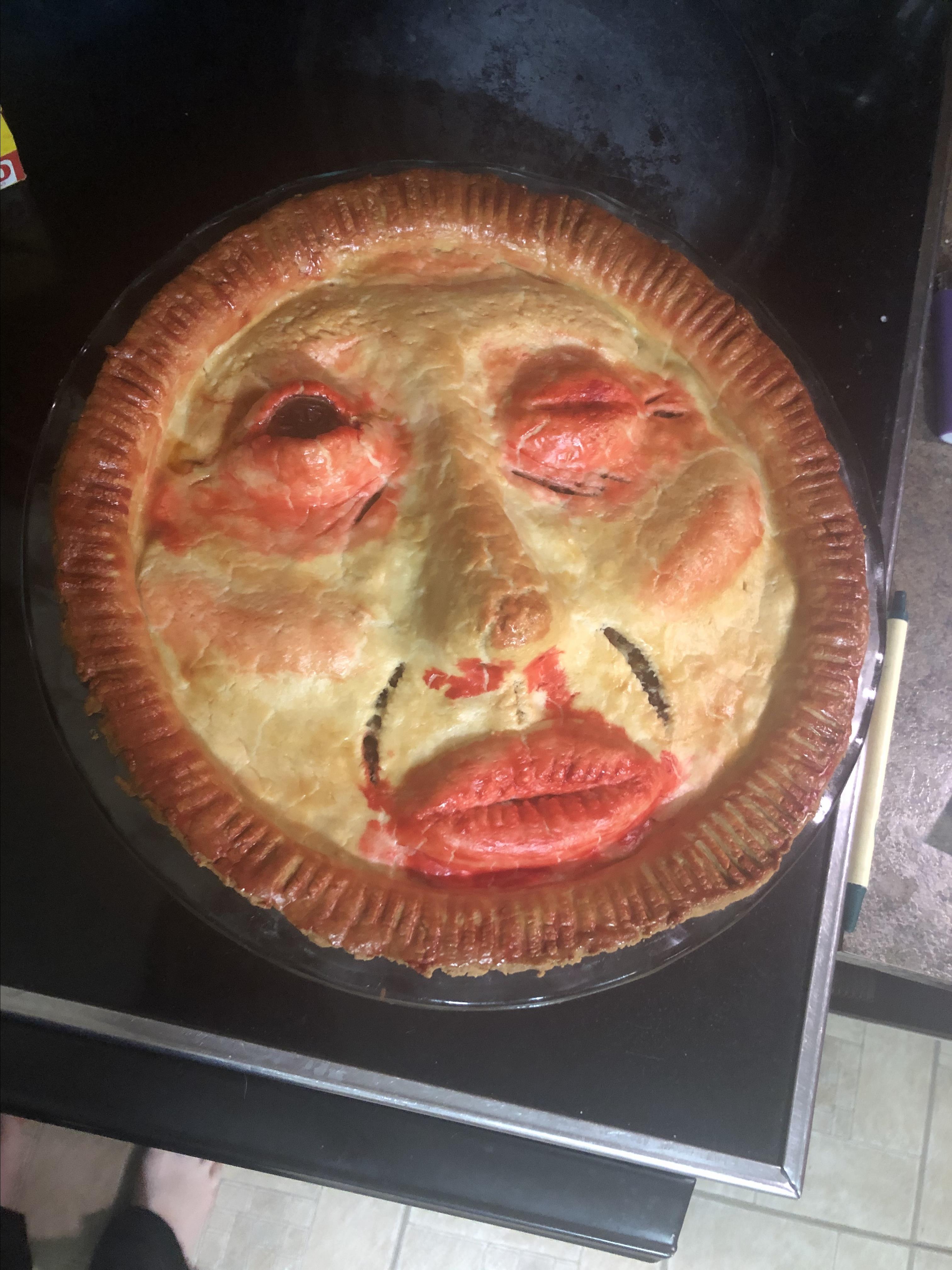 Chef John's Face Pie Bailey Chi & Dee
