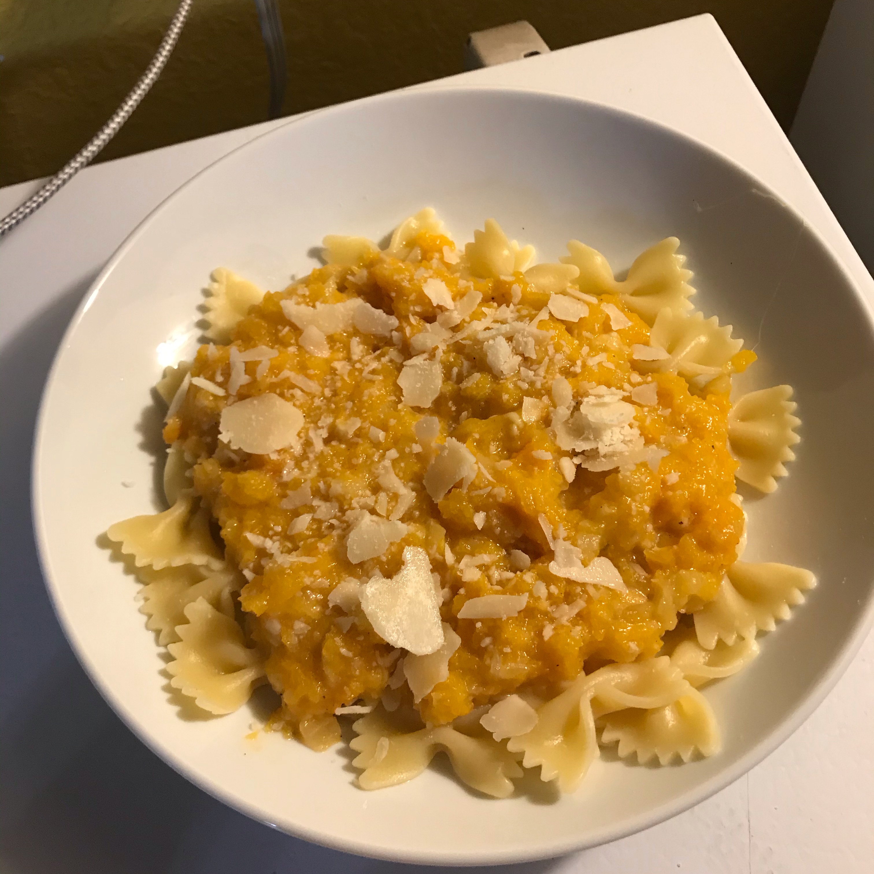 Cheesy Butternut Squash Pasta Sauce