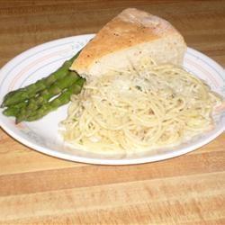 Quick Clam Spaghetti pennycandy