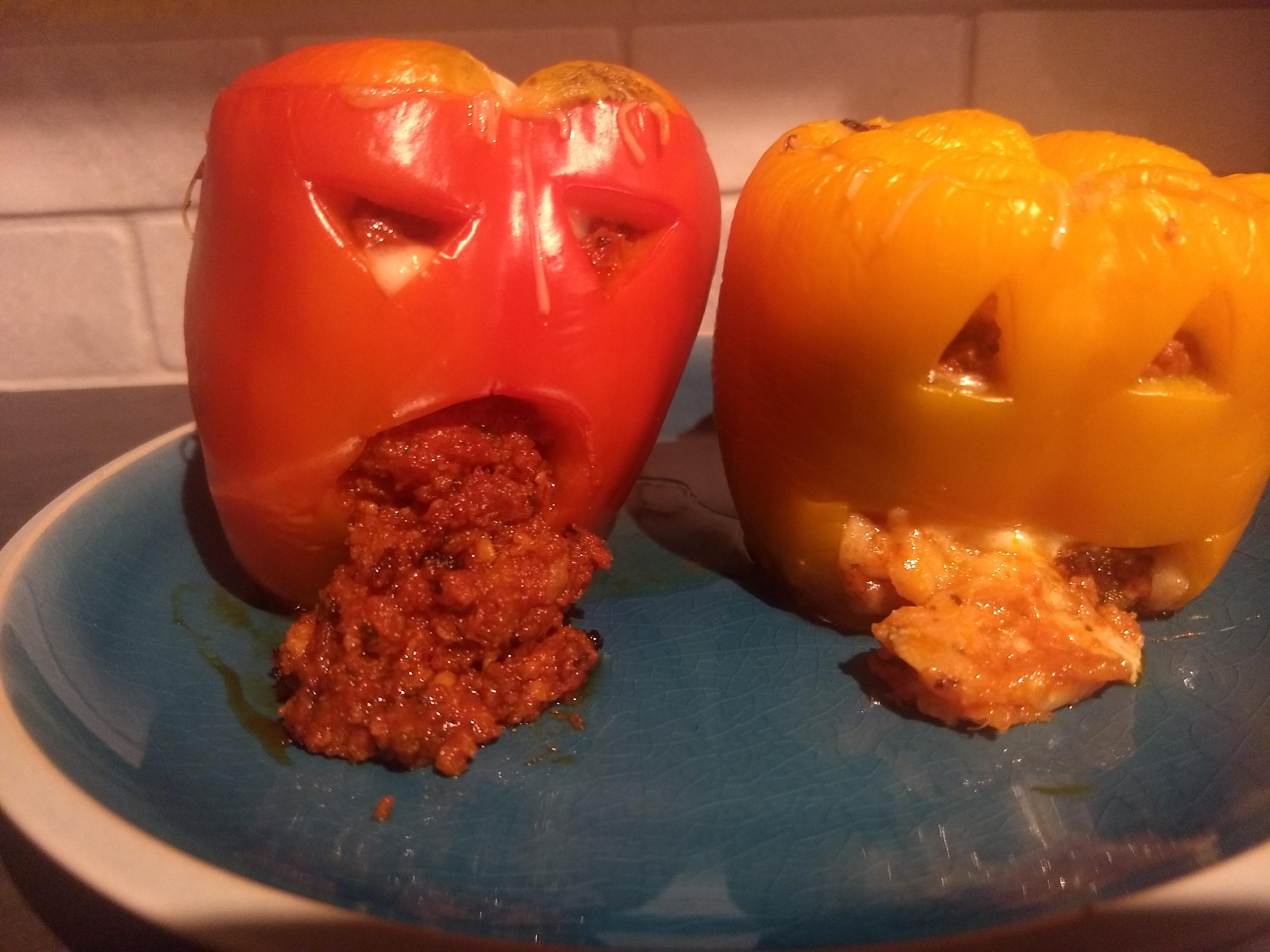 Keto Italian Stuffed Peppers Kellner_ra