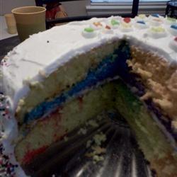 Rainbow Clown Cake Rheona
