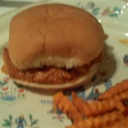 Zesty Slow Cooker Chicken Barbecue Bethany Campbell