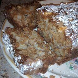 Apple Honey Bundt Cake