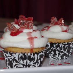 Bloody Broken Glass Cupcakes
