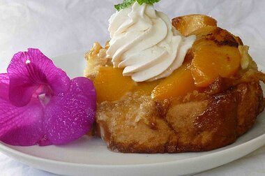 grandmas peach french toast recipe