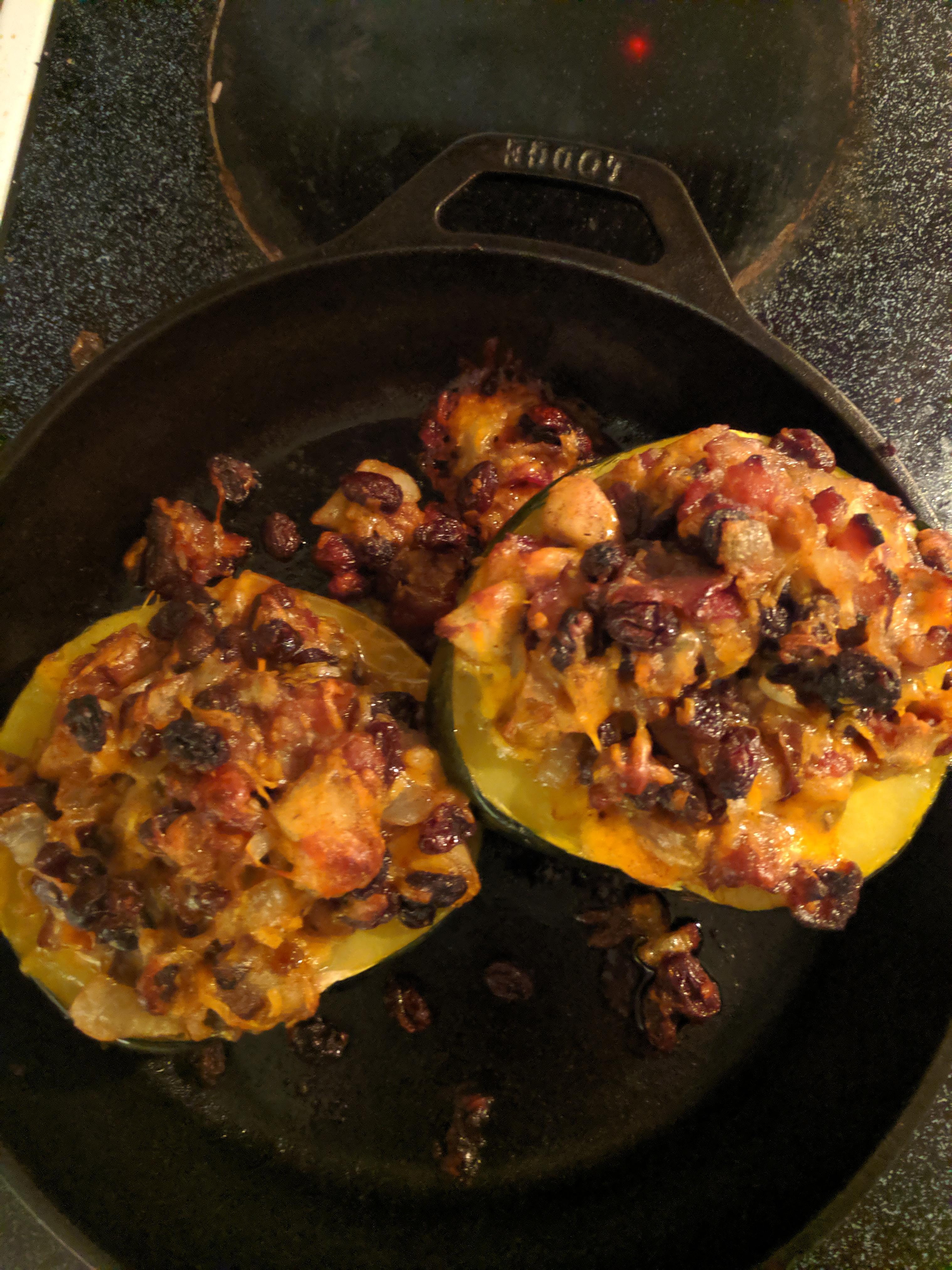 Apple-Stuffed Acorn Squash Jelle Tamminga