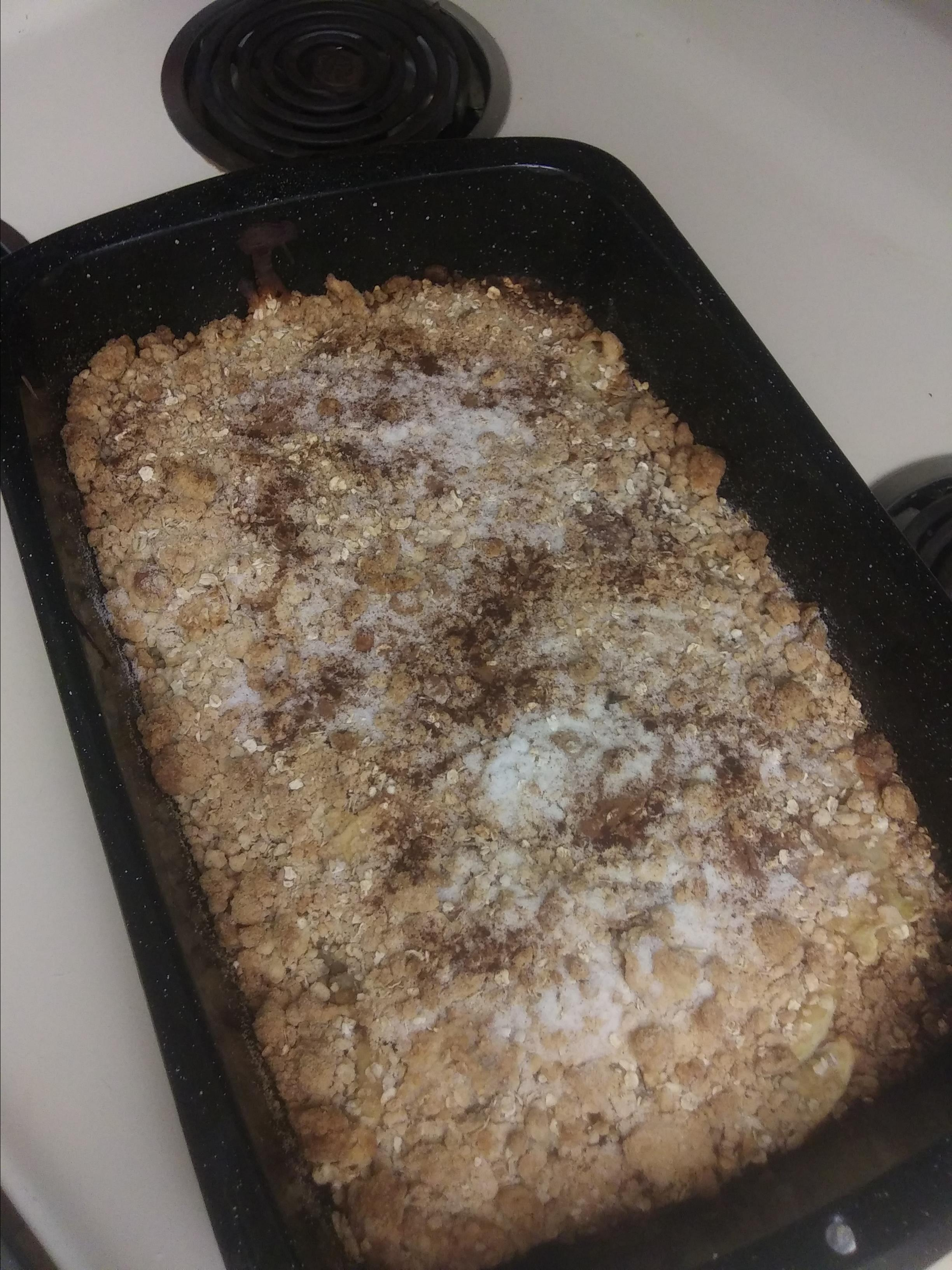 Apple Oatmeal Crisp Tammi Miller