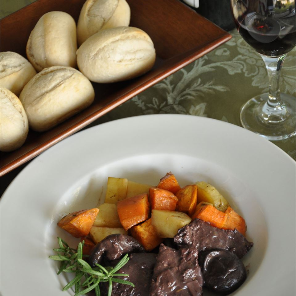 Braised Venison with Rosemary and Shiitake LeslieD