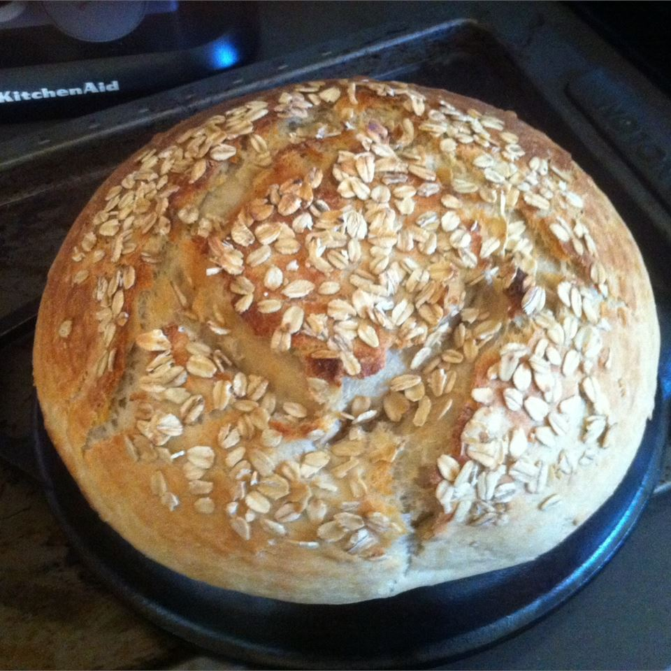 Buttermilk Oatmeal Bread Kristina