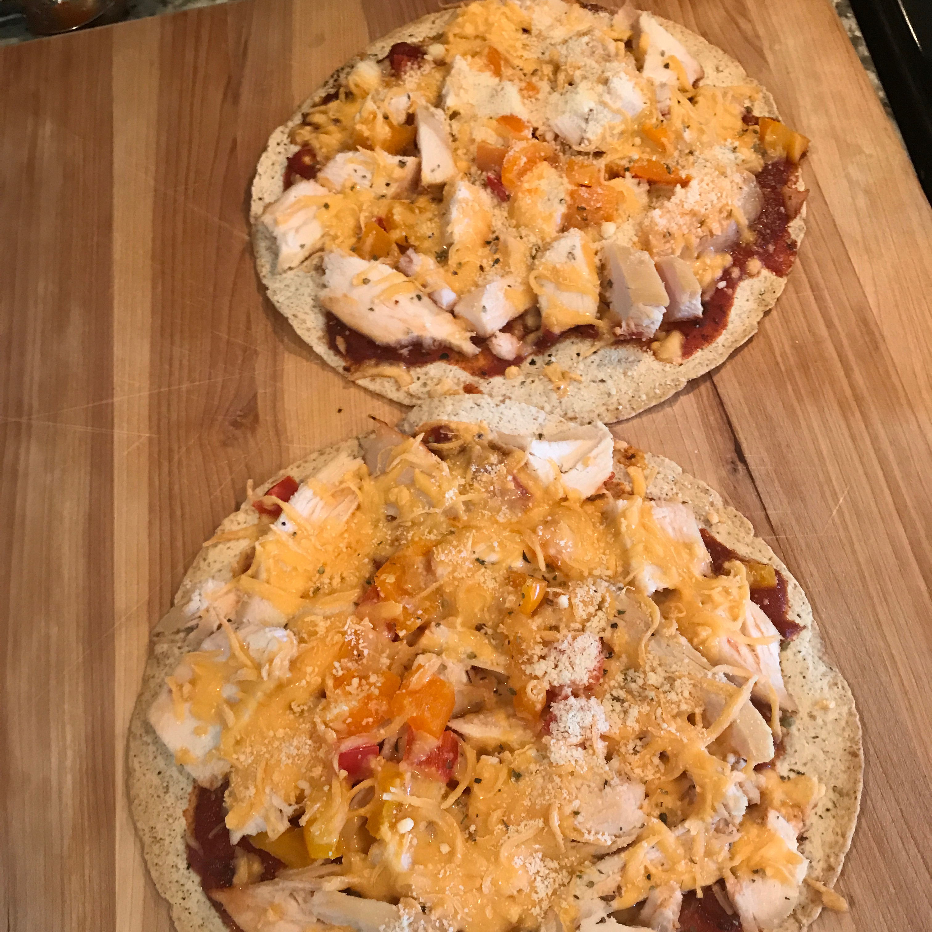 Easy Tortilla Pizza Meg