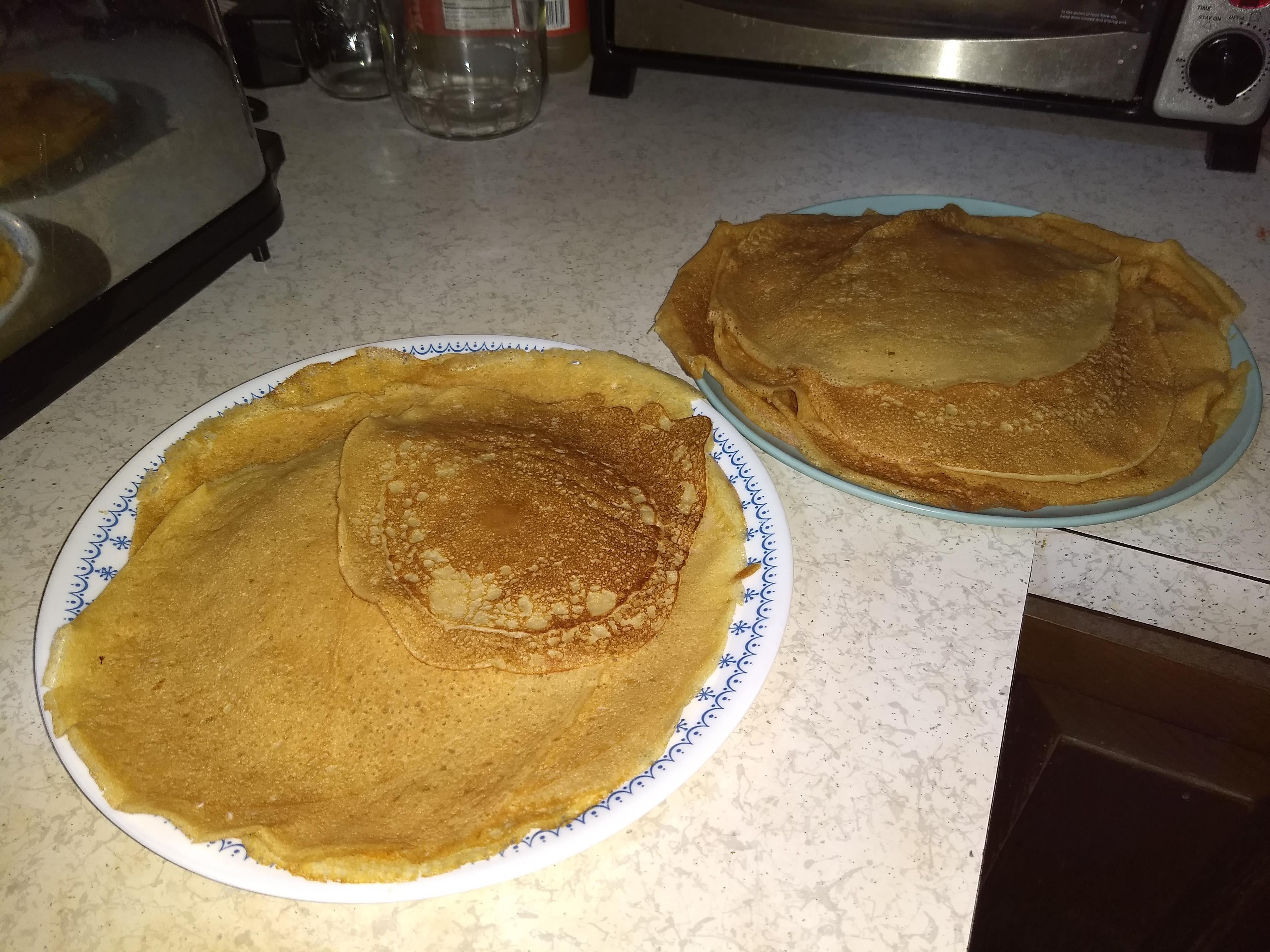 Whole Wheat Pancakes