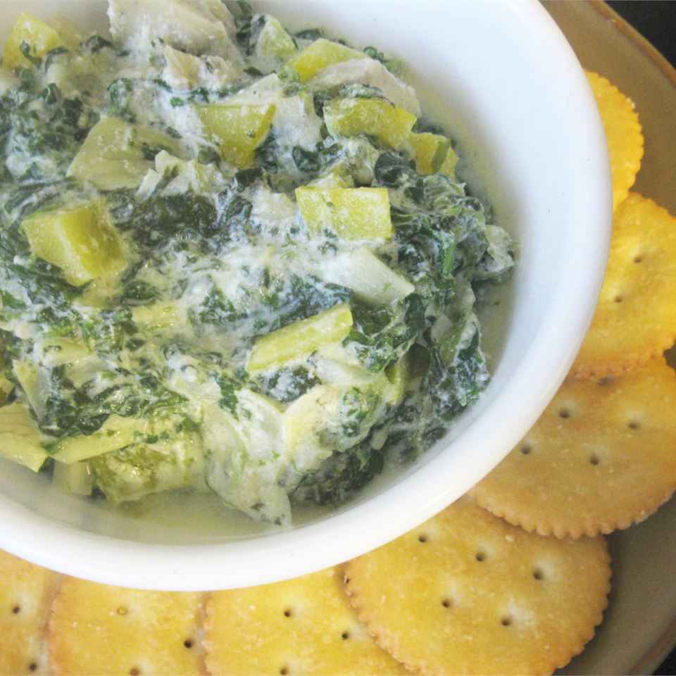 Holiday Hot Spinach Dip mommyluvs2cook