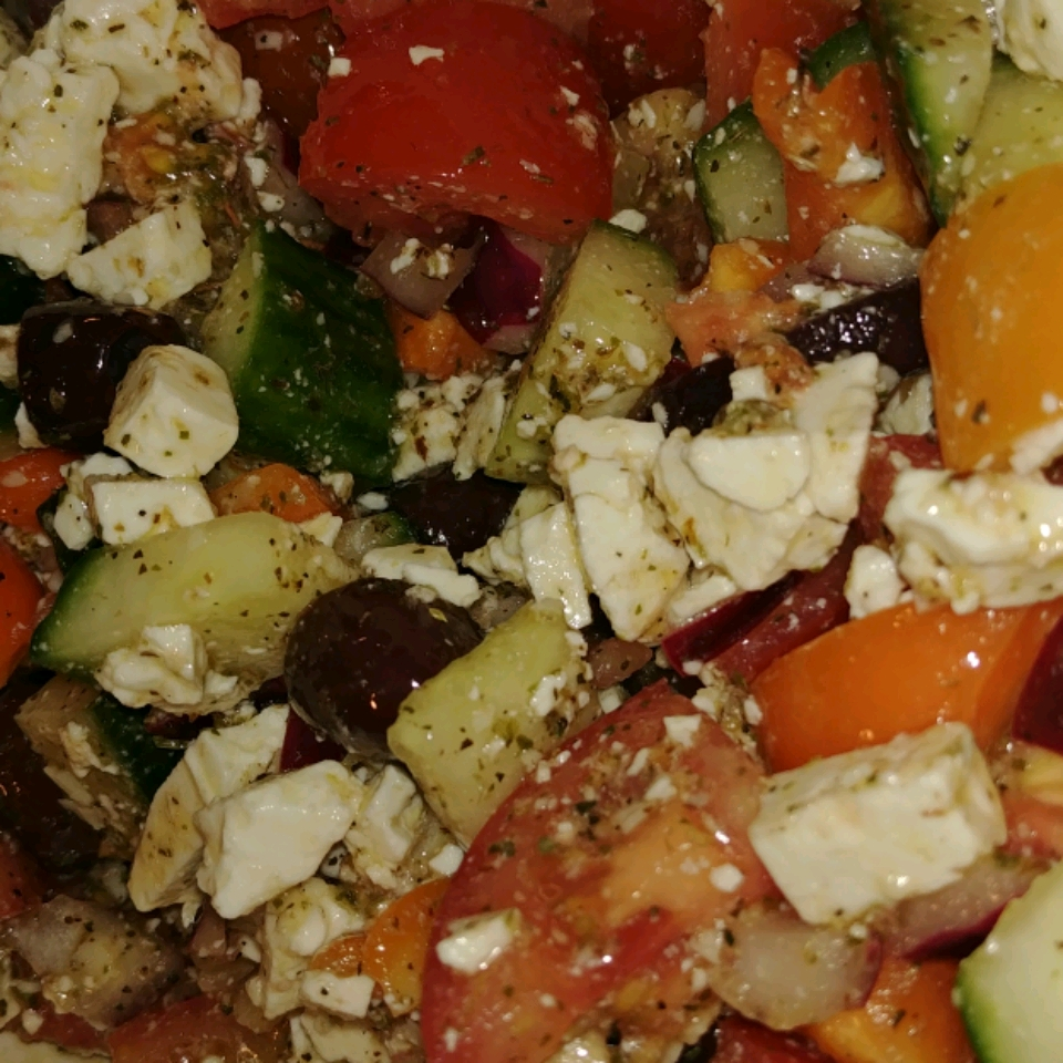 Greek Salad, The Best! Joan Spares