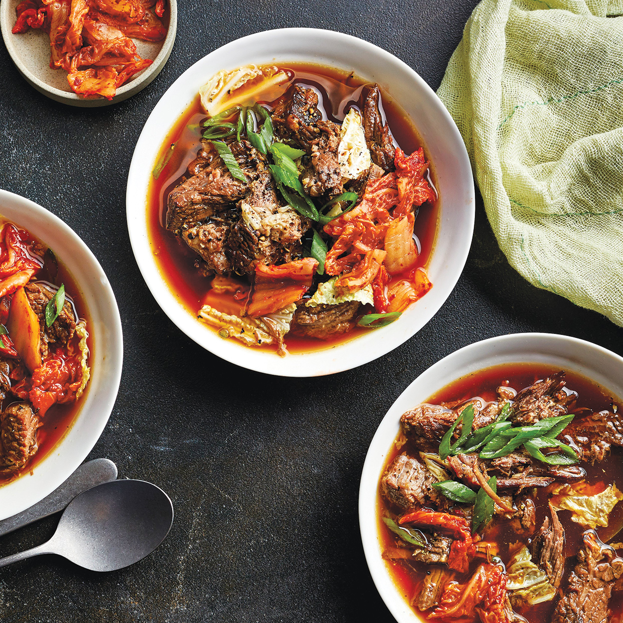 Slow-Cooker Korean Beef & Cabbage Stew