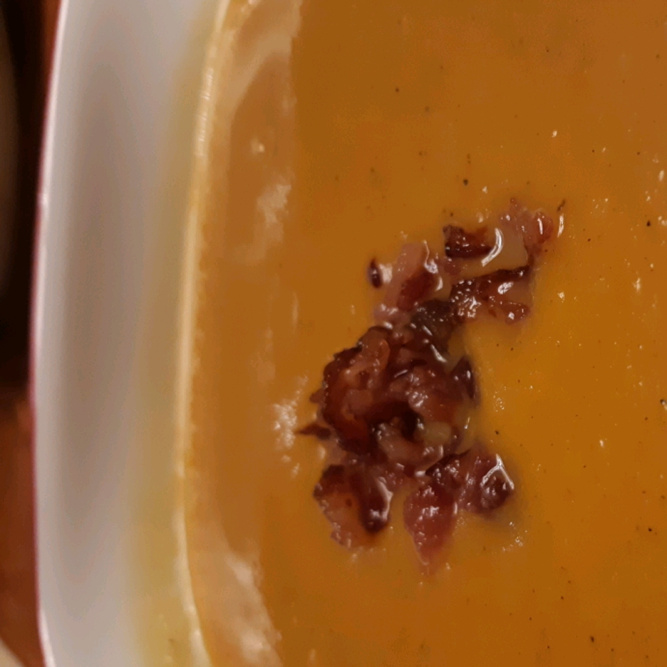 Butternut Squash and Apple Soup Karen Werden