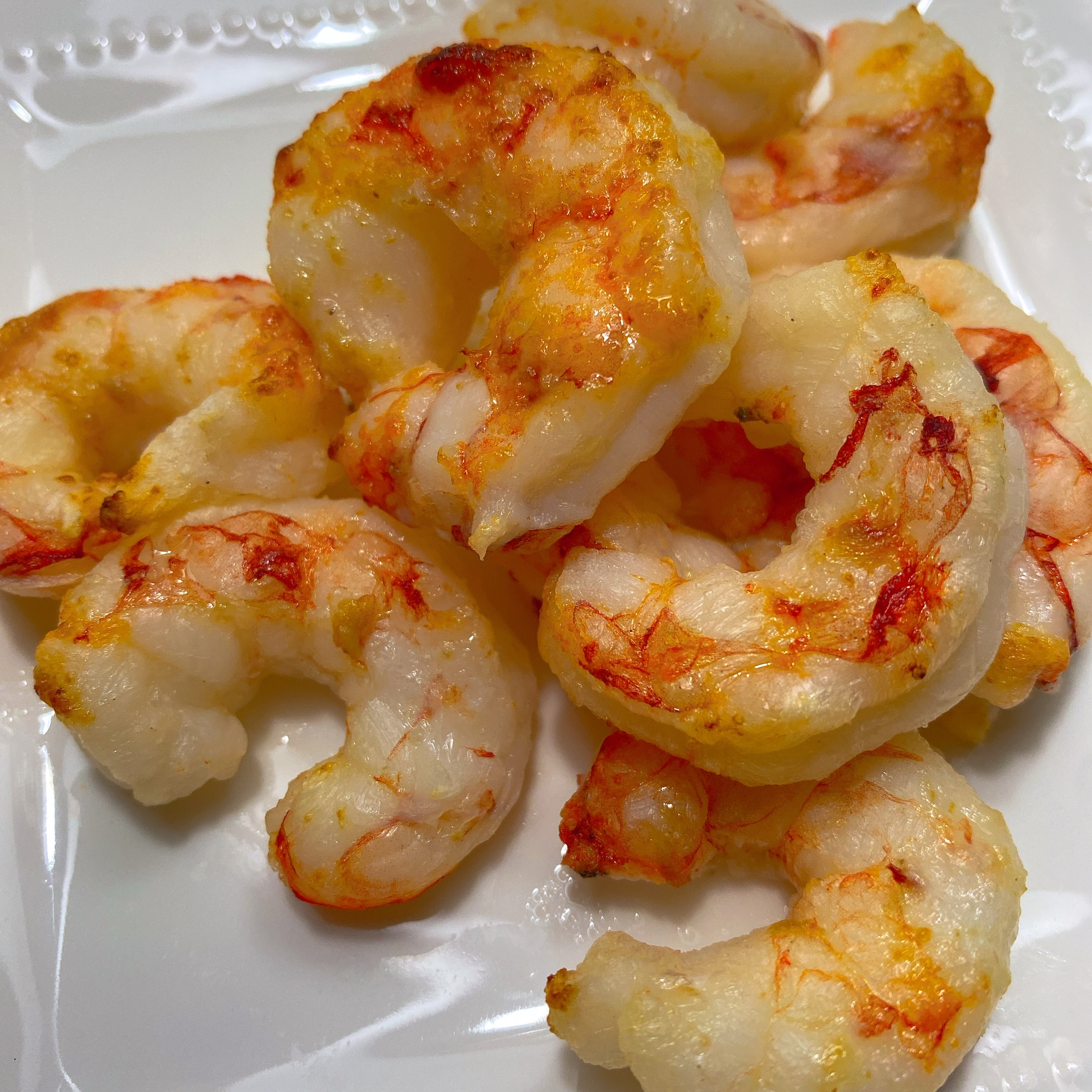 Air-Fried Shrimp