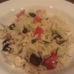 Greek Orzo Salad ChefMina