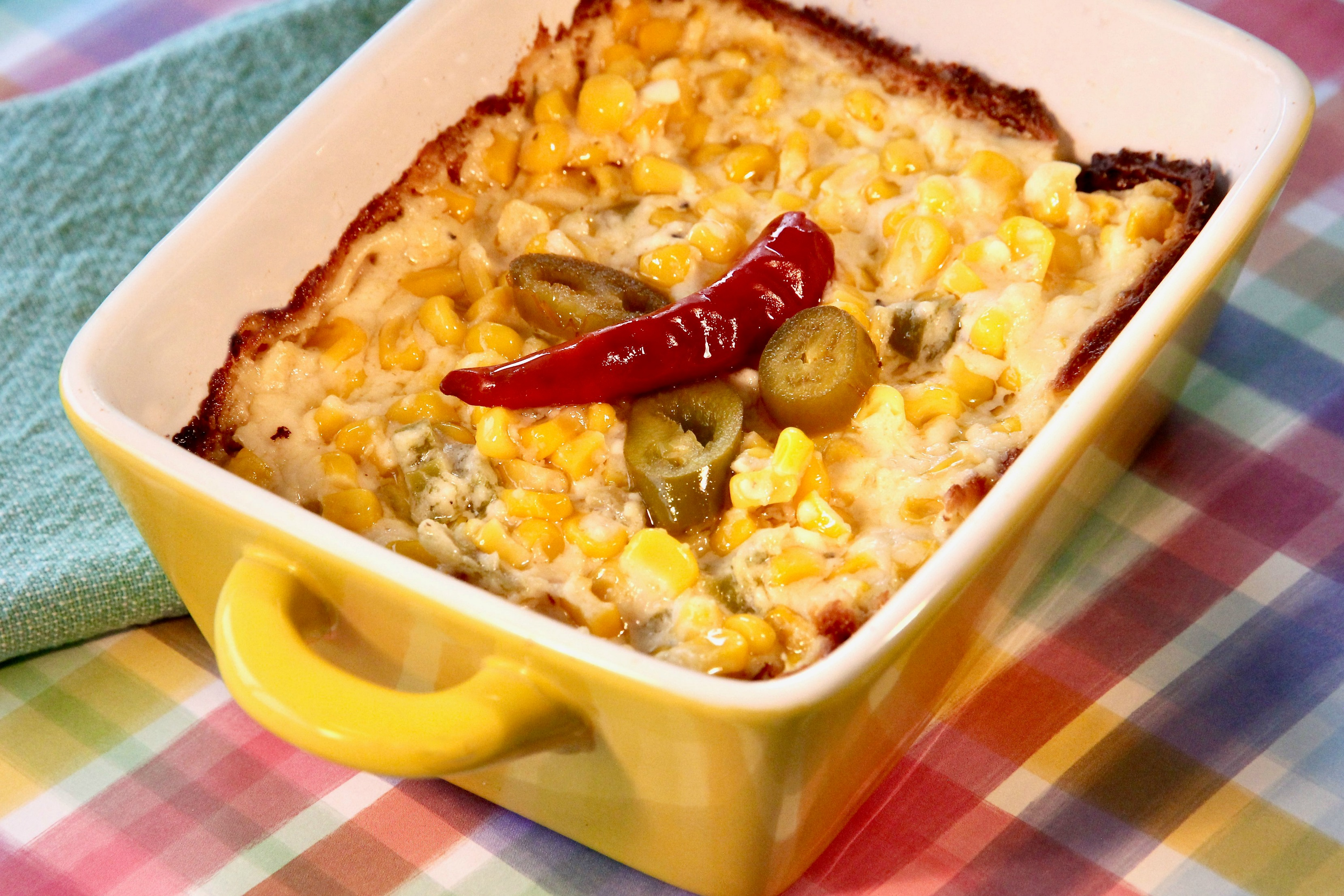 Hot Cream Cheese-Corn Casserole