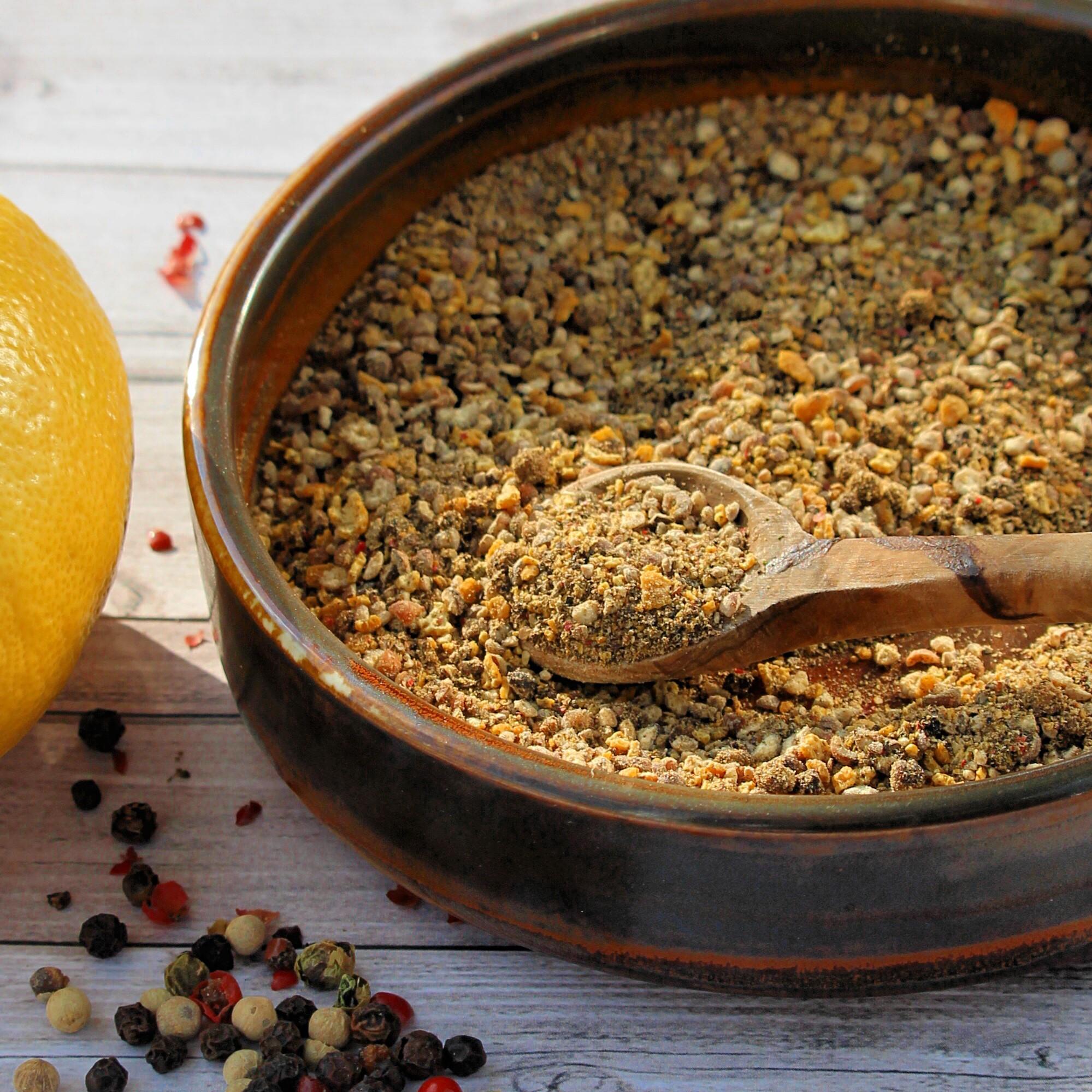 Homemade Lemon-Pepper Seasoning