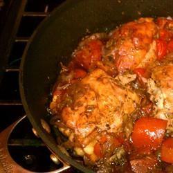 Braised Balsamic Chicken