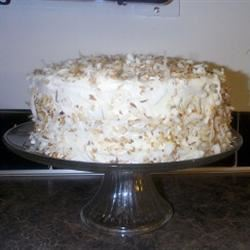 Fresh Coconut Cake April