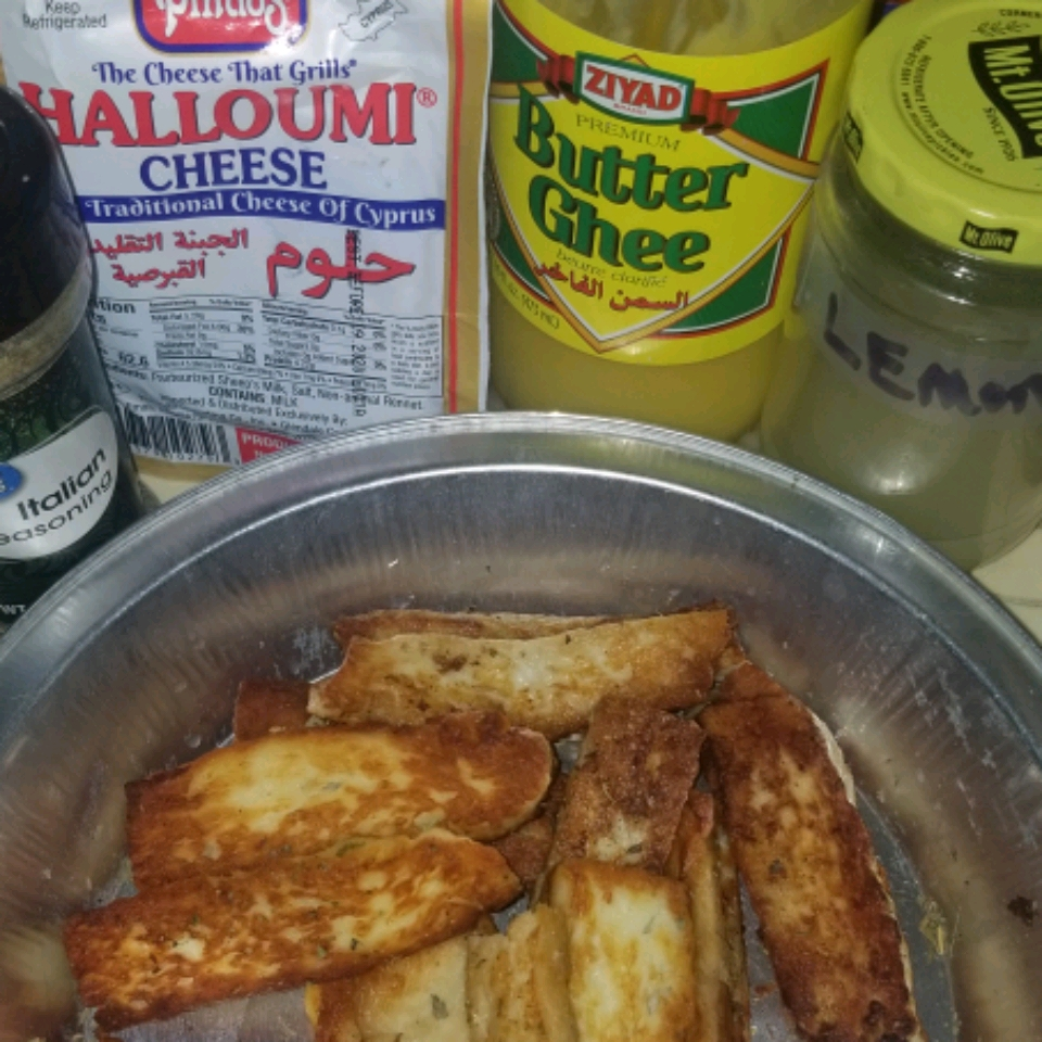 Halloumi Cheese Fingers