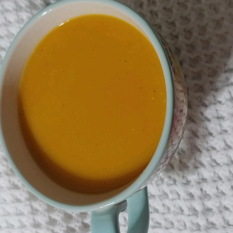 Butternut Squash Sweet Potato Soup Louise King
