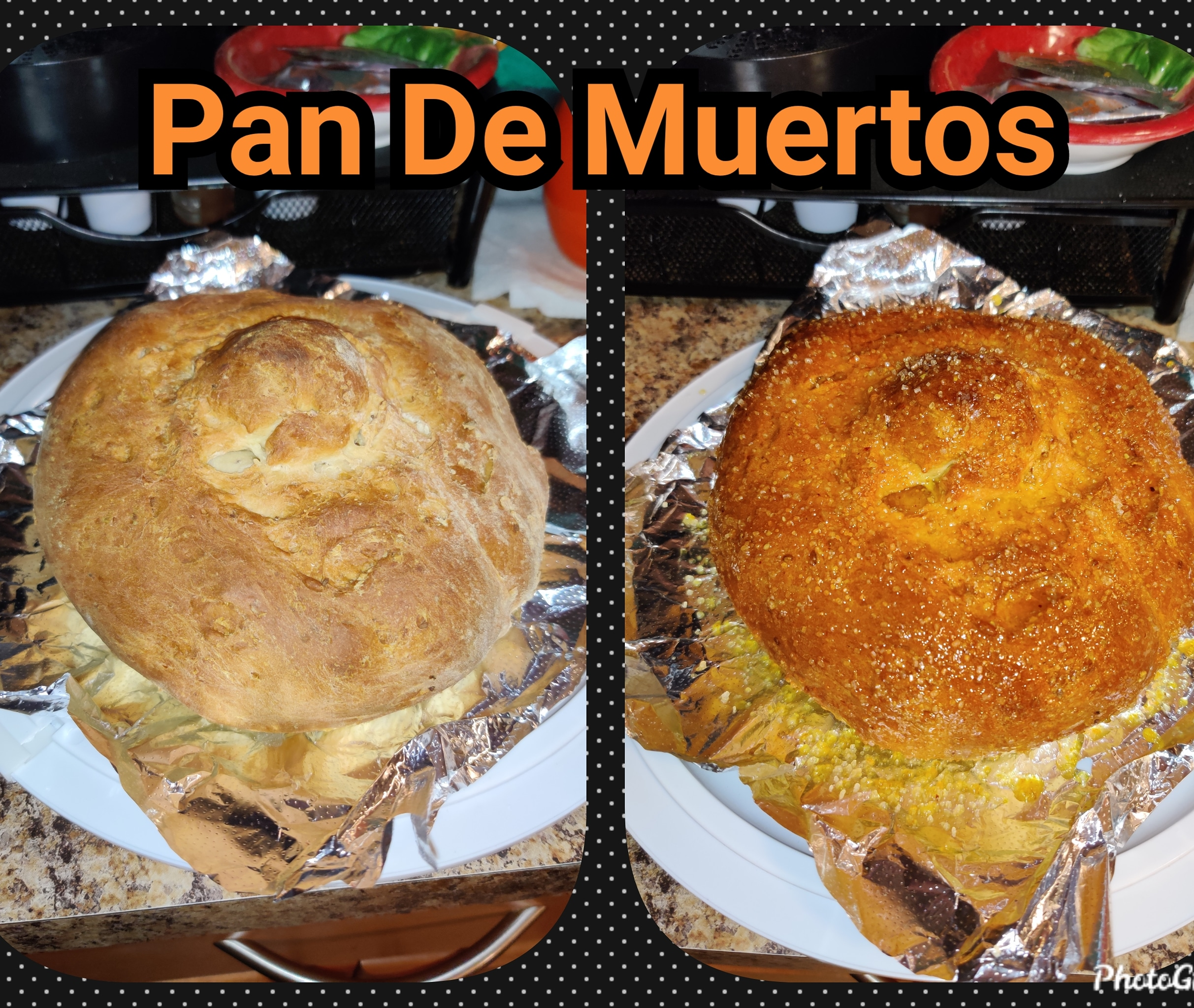 Pan de Muertos (Mexican Bread of the Dead)
