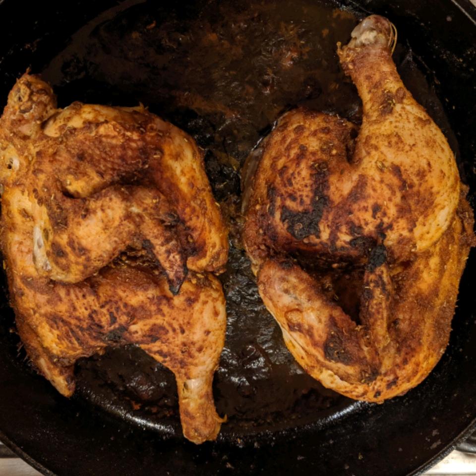 Crispy Roasted Chicken Barb Sprague